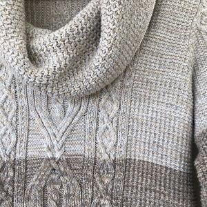 Jeanne Pierre cowl neck sweater 💯 cotton